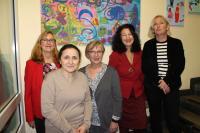 Cäcilia Tiemann, Vahide Tiq, Margarete Wietelmann, Dr. Necla Kelek, Antje Buck
